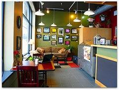 Coffee Shop Business Profile - Colorful Inside Scene