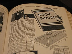 Antique Book Binding Instructions