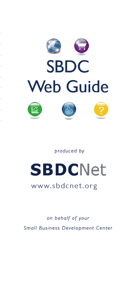 Download SBDC Web Guide