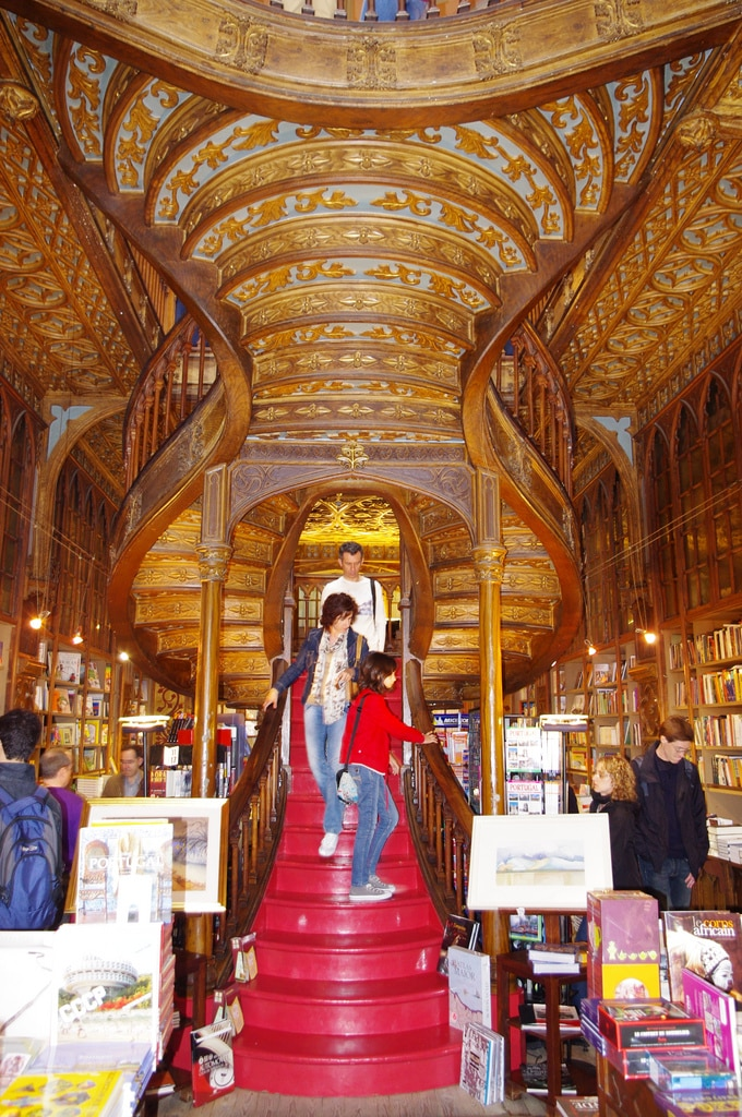 Inside view of bookstore