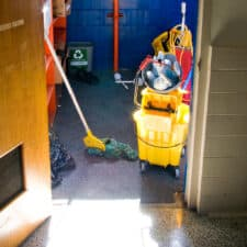 janitorial cleaning tools