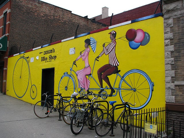 Bike Shop Exterior