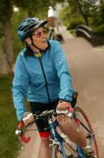 Elderly Biker