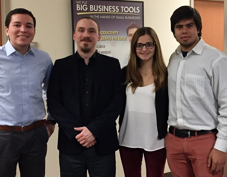 sbdc internship Chilean interns